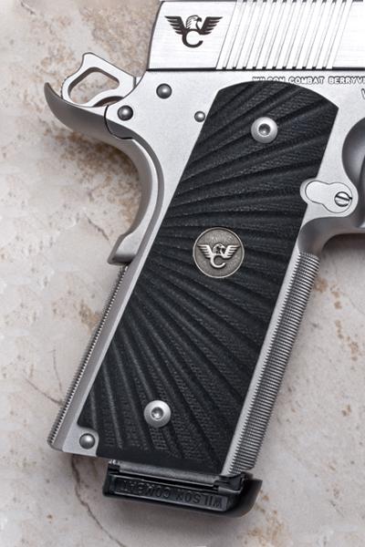 Grips | Full-Size | Black G10 | Starburst Pattern-https