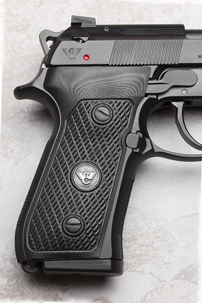 Beretta 92/96 G10 Grips   ULTRA THIN   Black-https