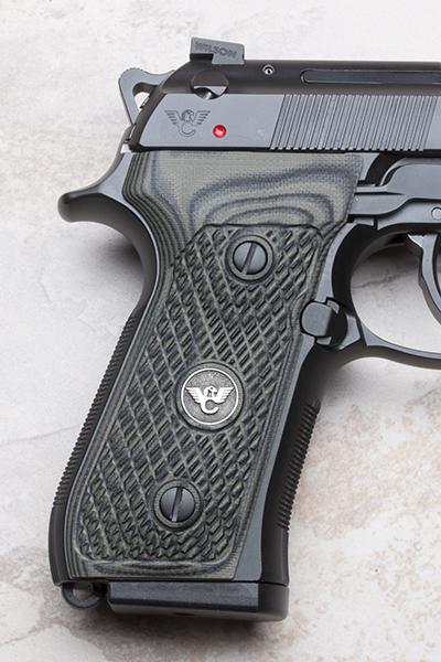 Beretta 92/96 G10 Grips   ULTRA THIN   Dirty Olive-https