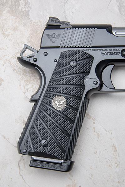 Grips | Full-Size | Black G10 | Rough Starburst Pattern | BB