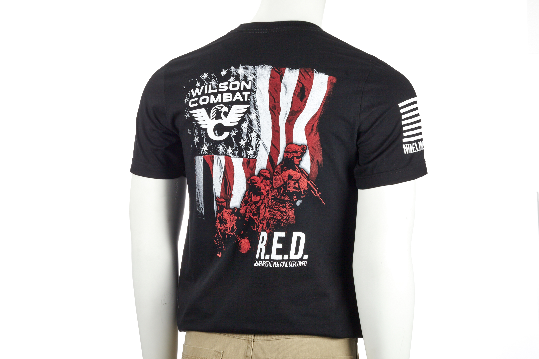 Wilson Combat® | Nine Line Apparel | R E D T-Shirt-https