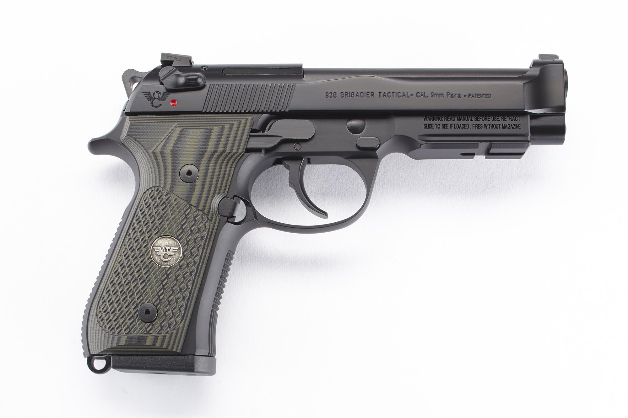 Beretta / Wilson Combat 92G Brigadier Tactical   9mm-https