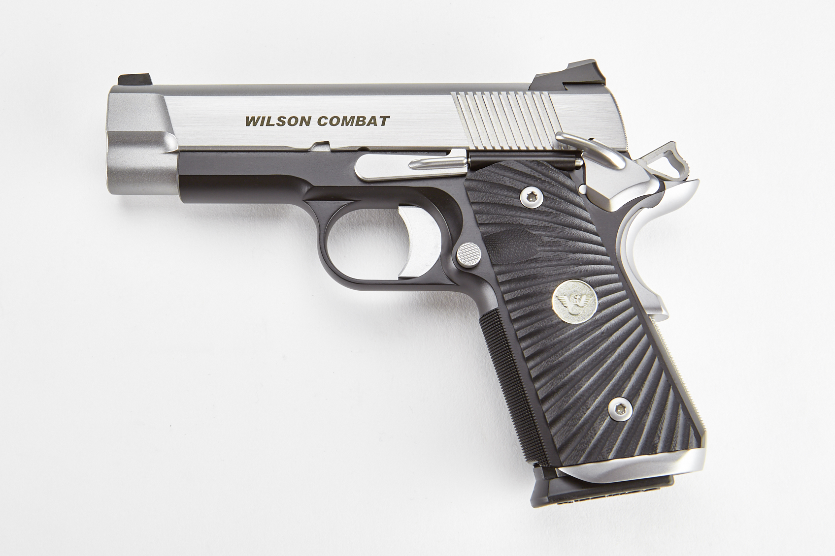 Tactical Carry, Compact, 9mm, Reverse Two-Tone, Stainless