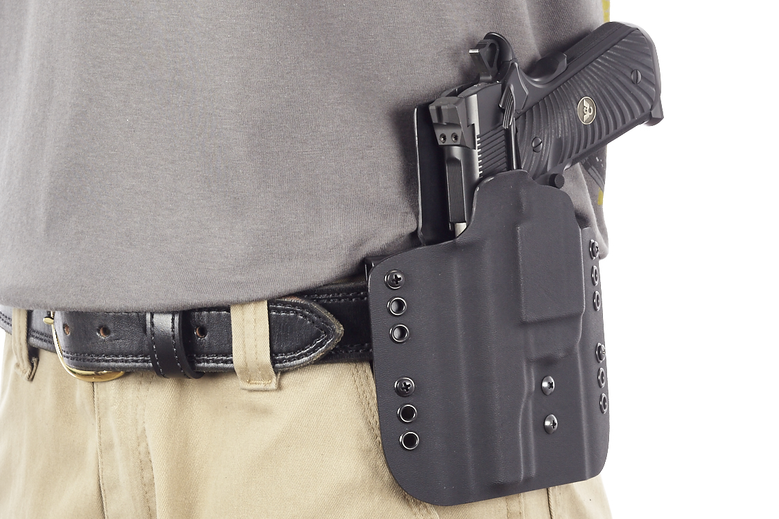 Kydex Carry Holster | Full-Size 1911 w/ TLR-6 | Left Hand