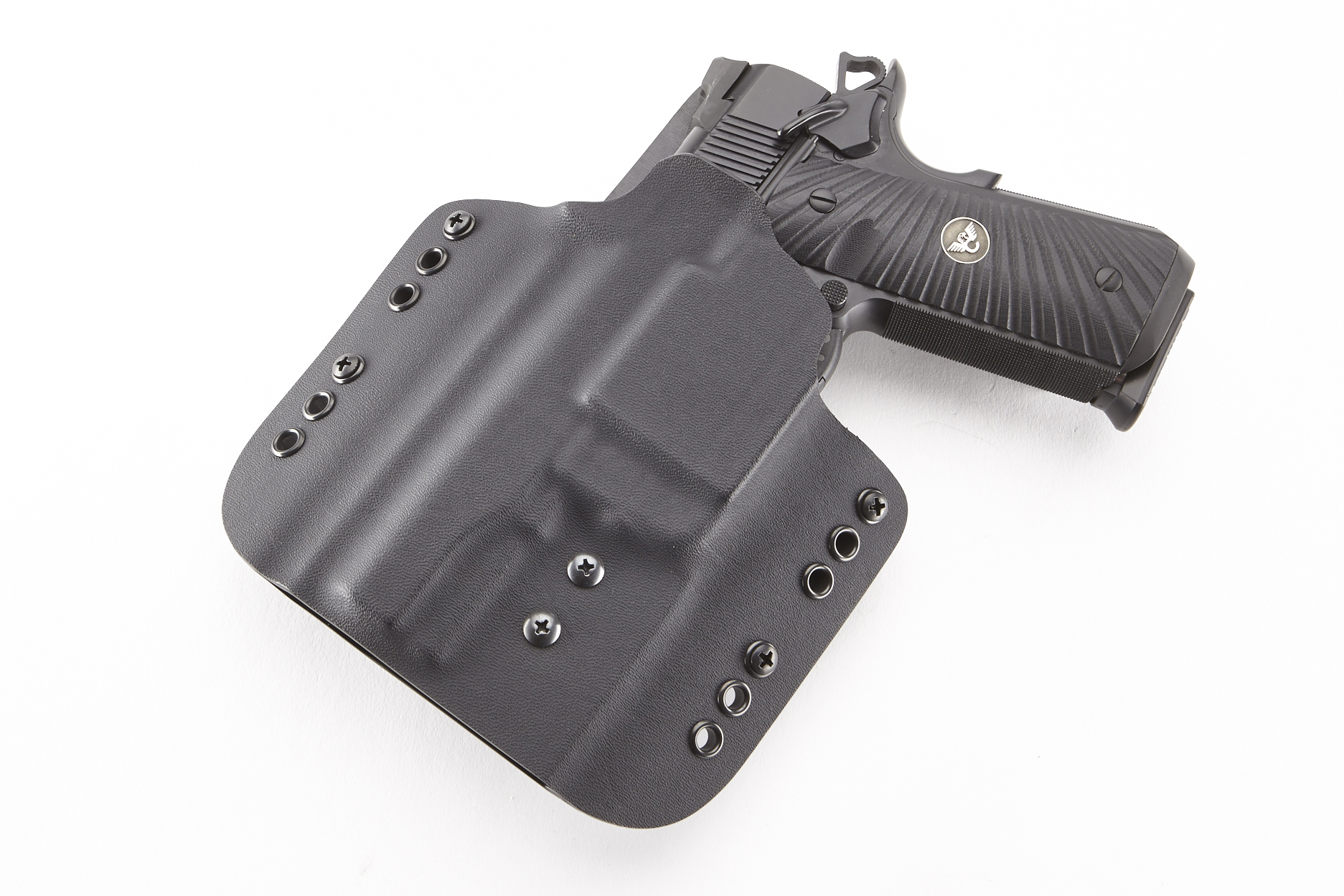 Kydex Carry Holster   Full-Size 1911 w/ TLR-6   Left Hand