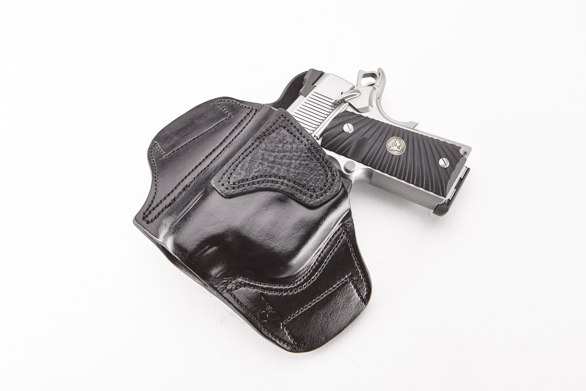 Lo-Profile II Holster | Compact 1911 with TLR-6 | Left-https