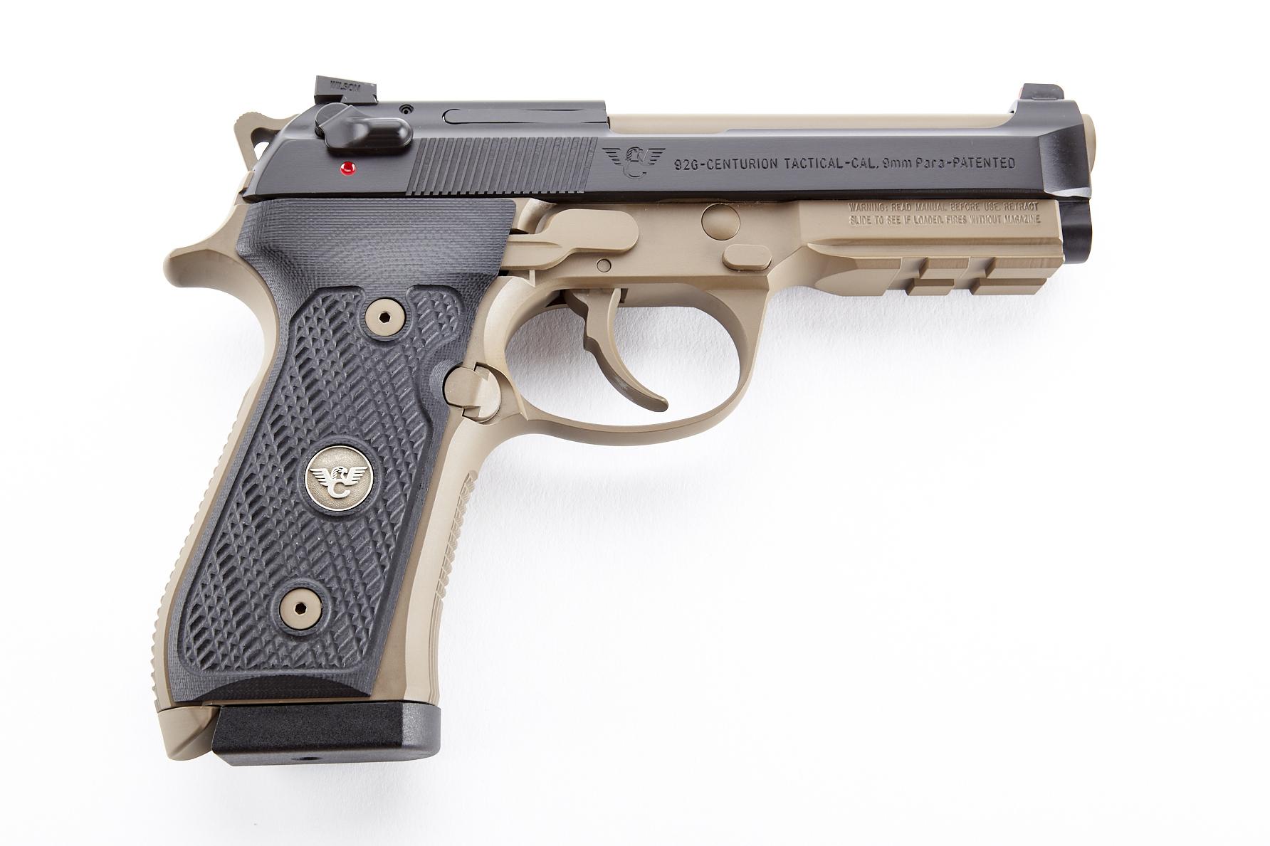 Beretta / Wilson Combat 92G Centurion Tactical, 9mm, Black