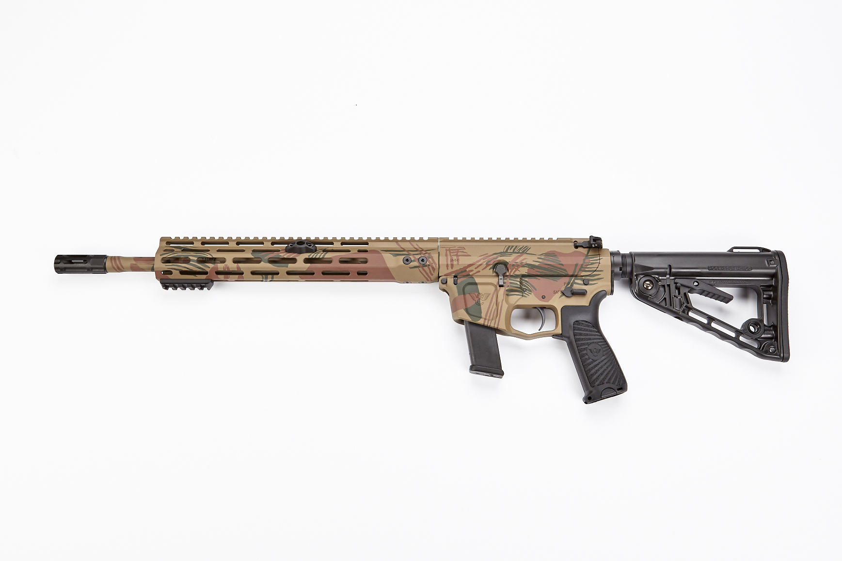 AR9 Carbine, Glock Receiver, 9mm, 14 7