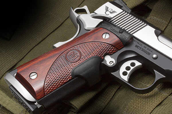 Crimson Trace Laser Grips | Full-Size 1911 | Front Activate
