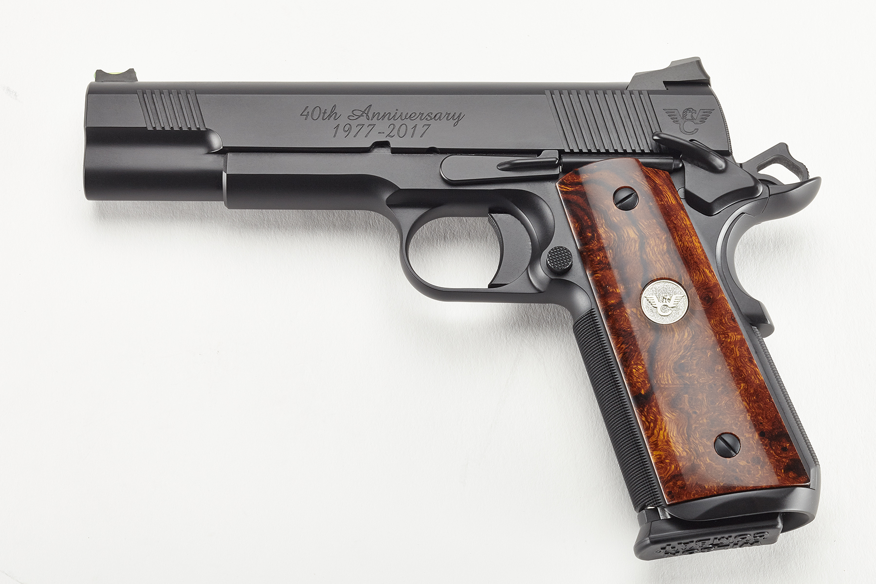 40th Anniversary 1911   Black Armor-Tuff   .45 ACP-https ...