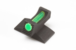 Beretta 92A1/96A1 Front Sight, Green Fiber Optic