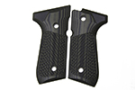 Wilson Combat G10 Grips, Tactical Slants Pattern, Dirty Olive | Beretta 92/96