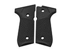 Wilson Combat G10 Grips, Tactical Slants Pattern, Black | Beretta 92/96