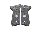 Beretta 92/96 G10 Grips, Checkered with WC Logo, Dirty Olive