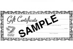 Gifts/Gift Certificates
