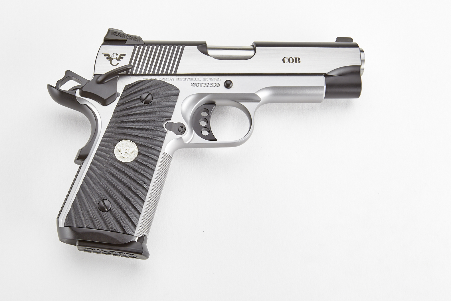 cqb compact 9mm stainless steel upgrade https