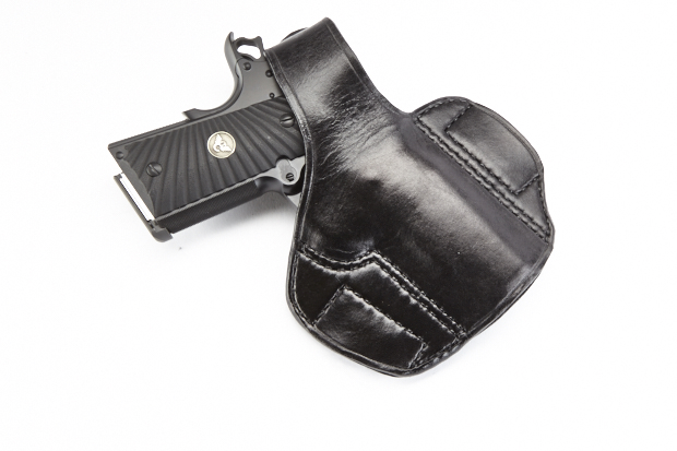 lo profile thumb break holster compact 1911 right. Black Bedroom Furniture Sets. Home Design Ideas