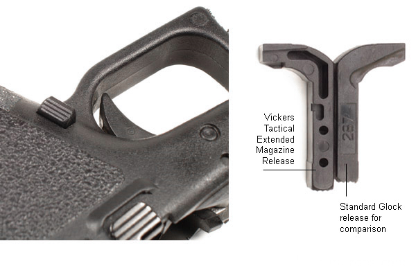 Vickers Tactical Extended Glock Mag Release Model 17 Https