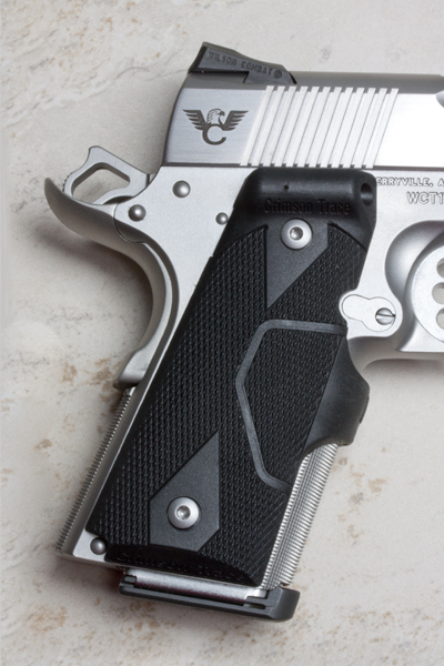 Crimson Trace Laser Grips | Compact 1911 | Front Activate-https