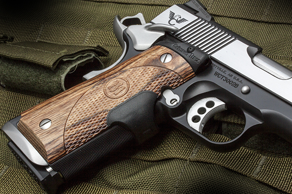 Crimson Trace Laser Grips | Full-Size 1911 | Front Activate-http ...