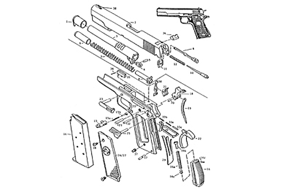 1911 parts accessories wilson combat rh shopwilsoncombat com 1911 Trigger Assembly Diagram Kimber 1911 Assembly Diagram